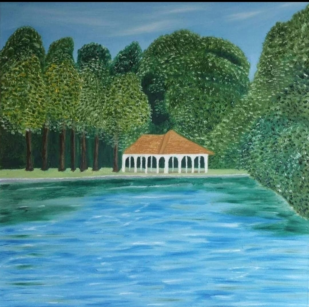 Oil Painting St Stephens Green Dublin for Sale by local artist